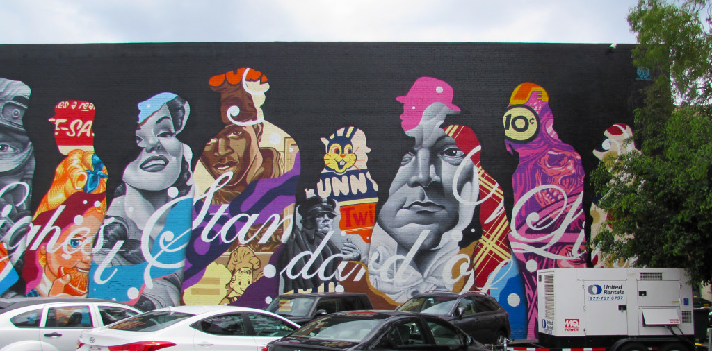 """""""The American Way"""" by Tristan Eaton, right side"""