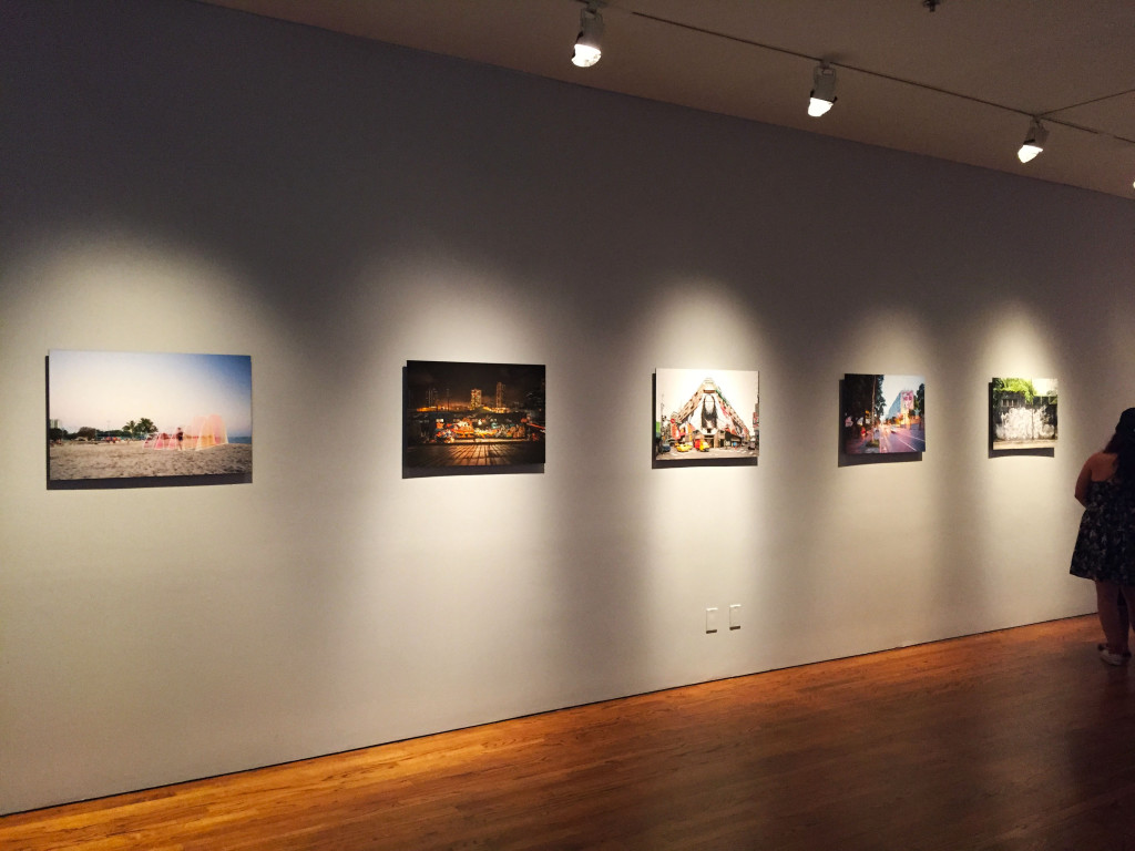 A photography installation by Brandon Shigeta