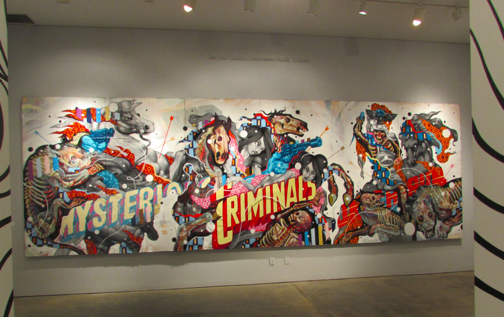 """""""Untitled Mural"""" by Nychos and Tristan Eaton"""