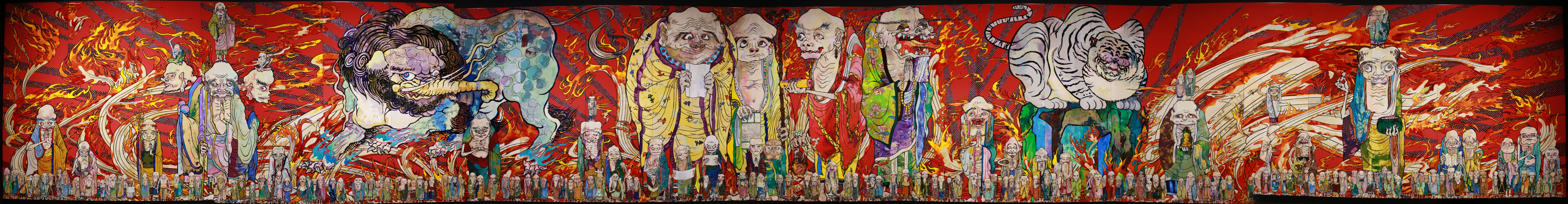 The 500 Arhats [White Tiger], 2012