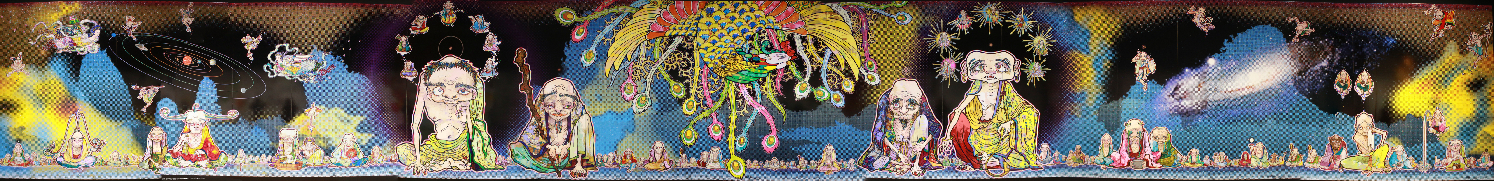 The 500 Arhats [Vermilion Bird], 2012