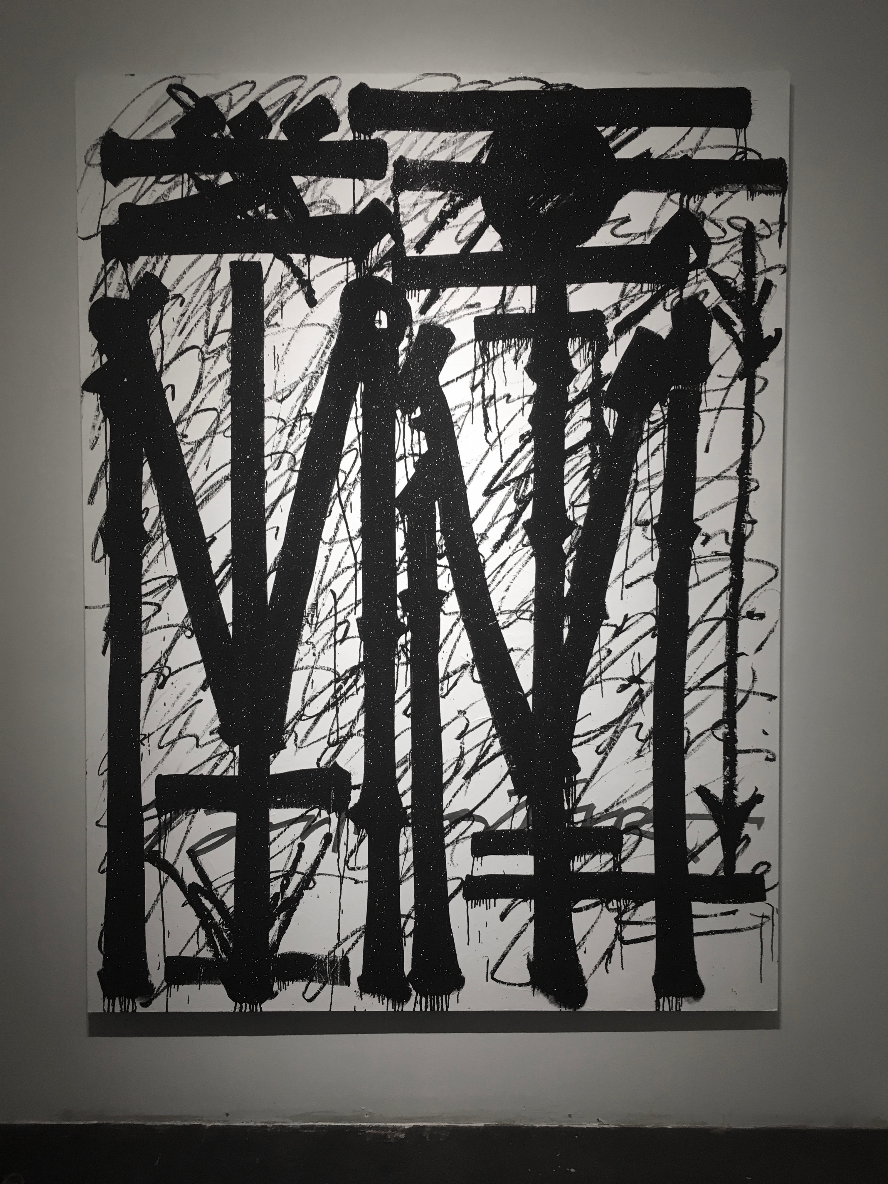 Retna's contribution to the group show